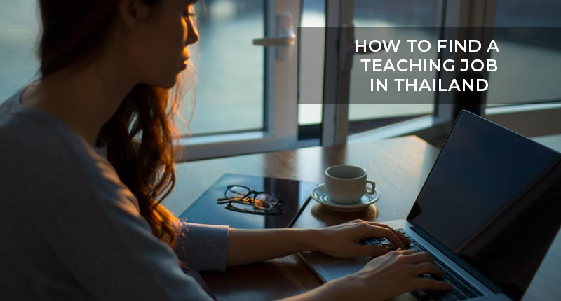 How to find a Teaching Job?