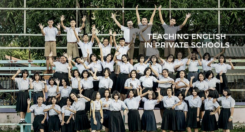 Teaching English in Thailand in Private, International Schools