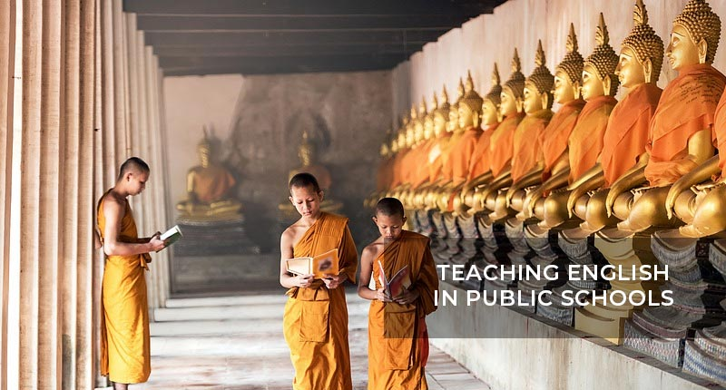 Teaching English in Thailand in Pubic Schools