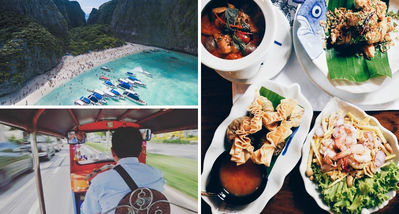 Activities and Food in Thailand while TEFL