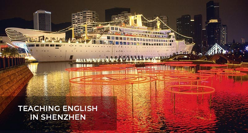 Teaching English in Shenzhen