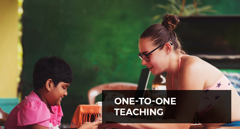 Teaching One-to-one